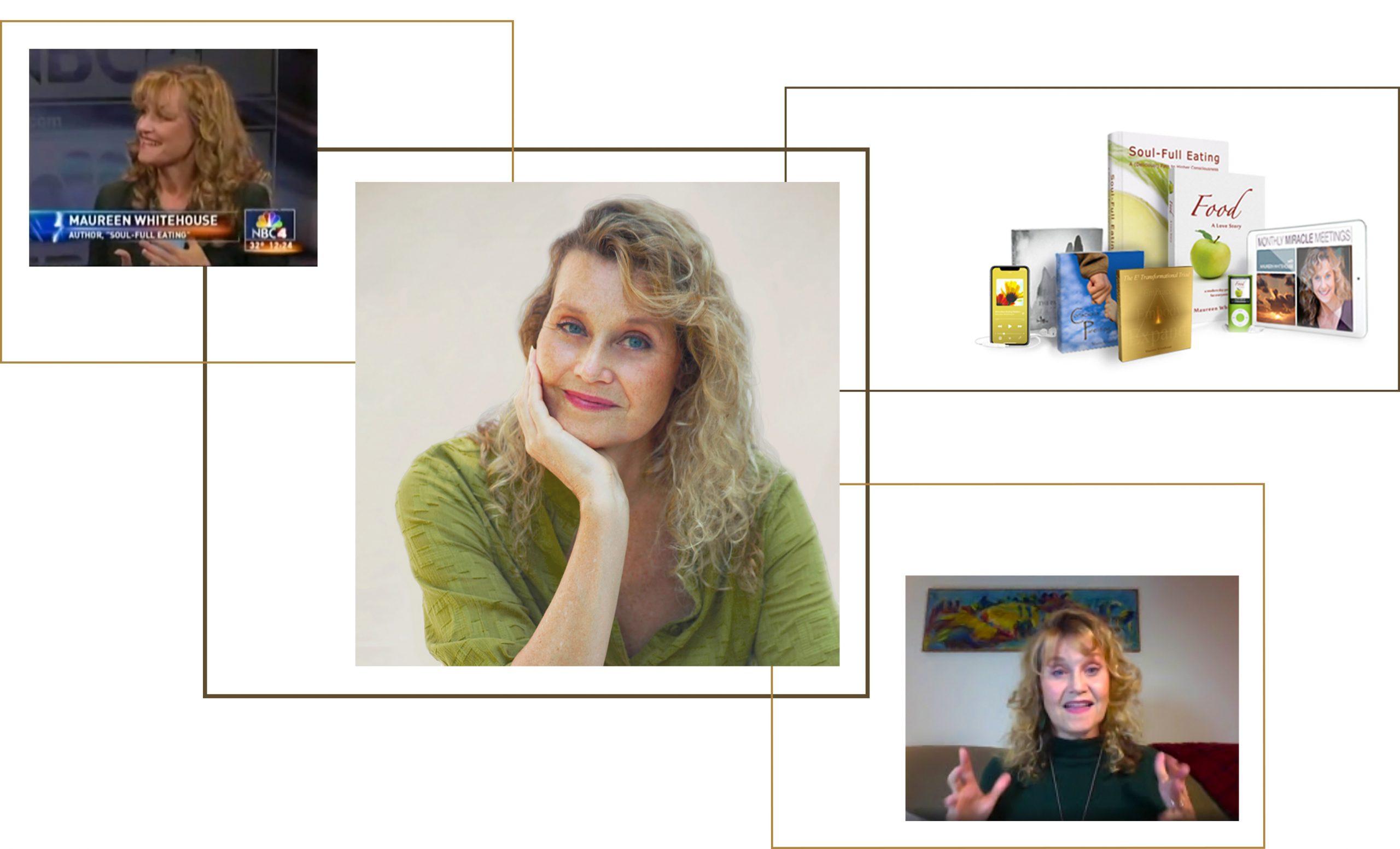 Miracle Mentor and Spiritual Teacher Maureen Whitehouse
